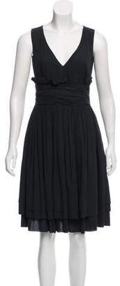 Prada Sleeveless Flared Dress