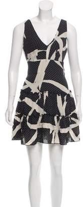 Anna Sui Polka Dot Sleeveless Dress