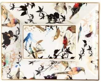 Roberto Cavalli Garden's Birds Rectangular Valet Tray