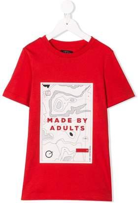 Les Bohemiens Kids graphic print T-shirt