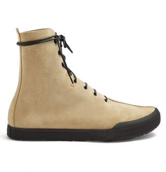 Loewe Lace-up suede ankle-boots