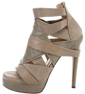 Chrissie Morris Stingray Platform Sandals