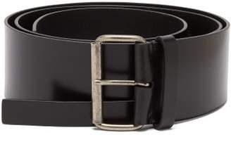 Ann Demeulemeester Kenya Double Leather Belt - Womens - Black