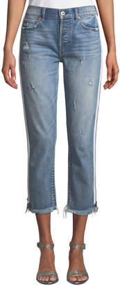 Pistola Charlie High-Rise Side-Zipper Jeans