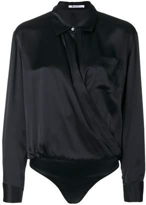 Alexander Wang shirt-style bodysuit