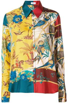 Salvatore Ferragamo print shirt