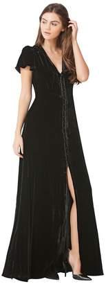 Hale Bob Tiffany Silk Maxi Dress