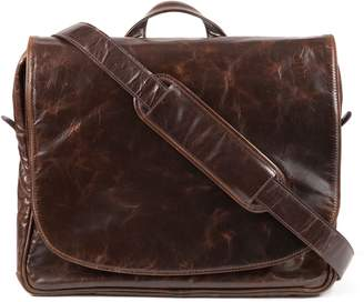 Moore & Giles Wynn Leather Messenger Bag