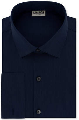Kenneth Cole Reaction Men Slim-Fit Techni-Cole Stretch Performance French-Cuff Dress Shirt