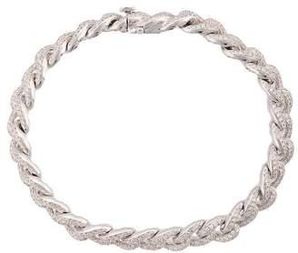 Sydney Evan Pavé link bracelet