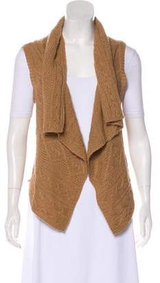Theory Camel Hair Sweater Vest