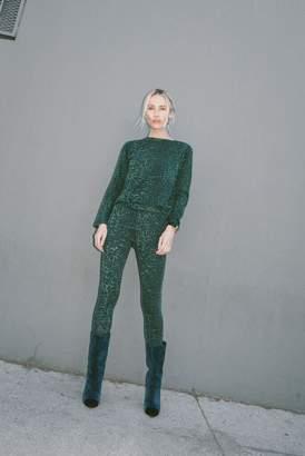 9ddfd8556adf ... Rag Doll Ragdoll LEOPARD LEGGINGS Green Leopard