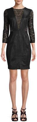 Tracy Reese Combo Sheath Dress