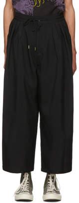 SASQUATCHfabrix. Black Wide Trousers