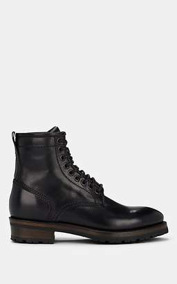 Project TWLV PROJECT TWLV MEN'S ROYAL LEATHER BOOTS - BLACK SIZE 10 M