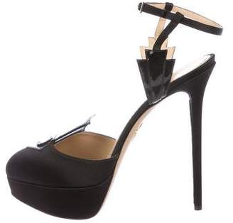 Charlotte Olympia Empire State Platform Pumps w/ Tags