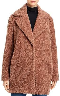Capote Mid-Length Teddy Coat