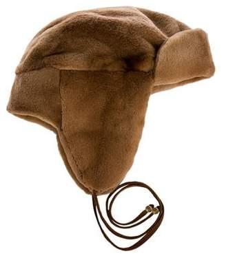 J. Mendel Mink Trapper Hat