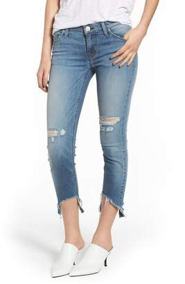 Hudson Jeans Tally Ripped Crop Skinny Jeans