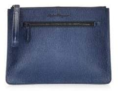 Salvatore Ferragamo Revival Leather Document Holder