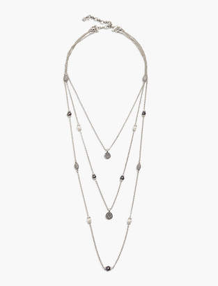 Lucky Brand PEARL LAYER NECKLACE