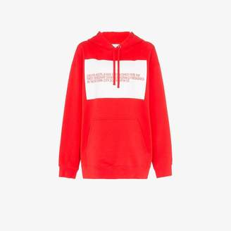 Calvin Klein Jeans Est. 1978 bio logo print hoodie