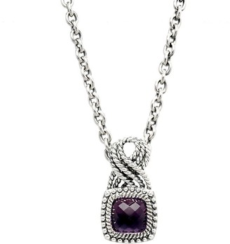 Tiffany & Co. Kay Studio Sterling Amethyst Pendant with Chain
