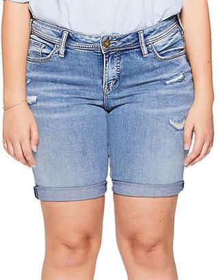 Silver Jeans Suki Bermuda Shorts