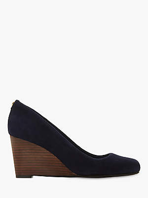 Dune Alixxe Wedge Heel Court Shoes