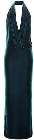 Tom Ford Velvet halter dress