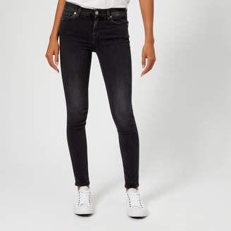 7 For All Mankind Women's Skinny Slim Illusion Jeans