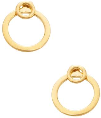 A Peace Treaty Women's 24K Gold-Plated Hoop Earrings