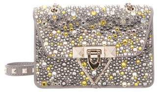 Valentino Mini Demilune Embellished Bag w/ Tags