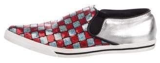 Marc Jacobs Sequin Slip-On Sneakers