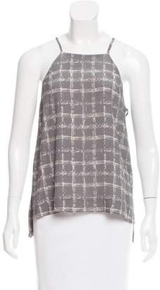 Brochu Walker Printed Silk Top w/ Tags