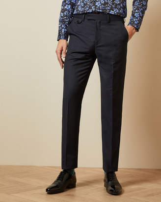 MARKLET Sterling wool checked trousers