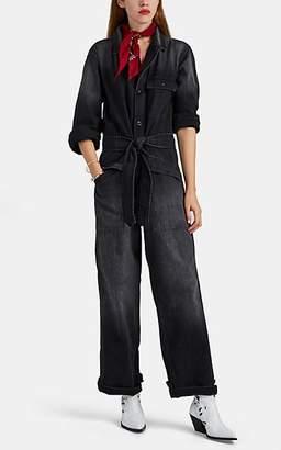 fc67d9528c8d Nili Lotan Women s Aria Cotton Denim Jumpsuit - Leonard Wash