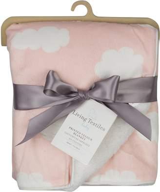 Living Textiles Printed Velour Baby Blanket