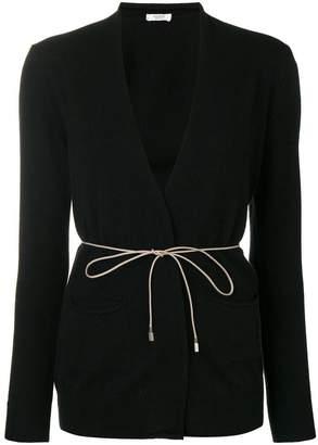 Peserico corded wrap cardigan