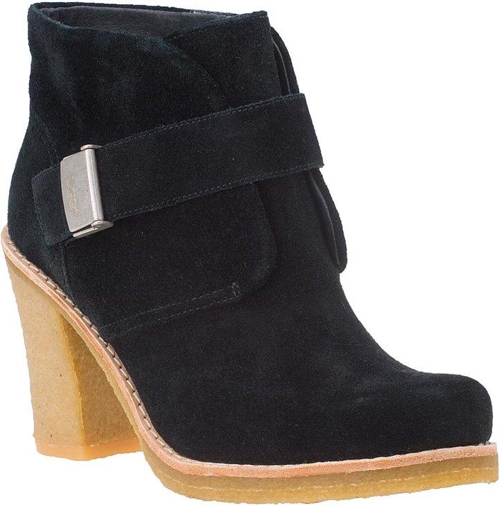 UGG® AUSTRALIA WOMEN'S Brienne Ankle Boot Black Suede