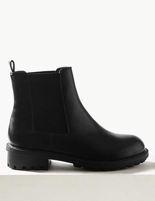 Marks and Spencer Chunky Heel Chelsea Ankle Boots