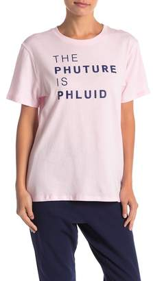 THE PHLUID PROJECT The Phuture Is Phluid Graphic Tee