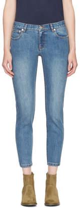 A.P.C. Indigo Etroit Court Jeans