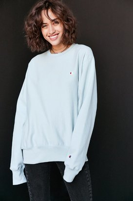 Champion + UO Reverse Weave Pullover Sweatshirt $55 thestylecure.com