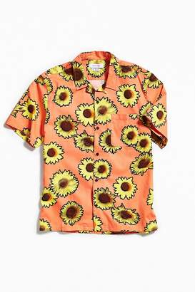 Urban Outfitters Sunflower Short Sleeve Button-Down Shirt