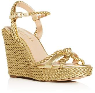 Kurt Geiger Women's Neile Espadrille Platform Wedge Sandals