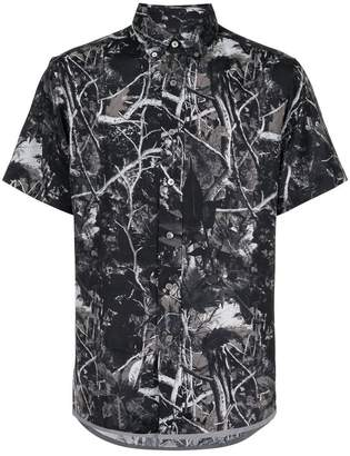 Lanvin tree branches print shirt