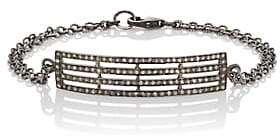 Feathered Soul Women's Oxidized Sterling Silver Plate Bracelet - Gold