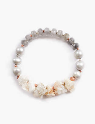 Lucky Brand STONE AND BEAD BRACELET