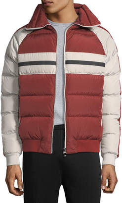 Zegna Sport Quilted Zip-Front Down Jacket